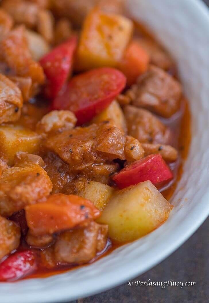 Filipino Pork Menudo Recipe Panlasang Pinoy
