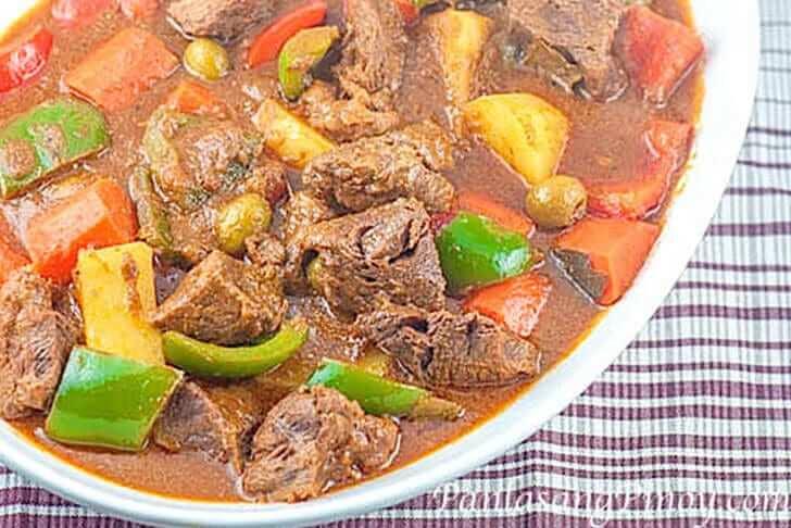 Beef kaldereta recipe panlasang pinoy beef kaldereta recipe panlasang pinoy forumfinder Choice Image