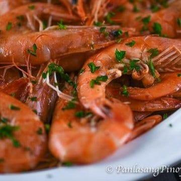 Garlic Butter Shrimp Recipe Panlasang Pinoy