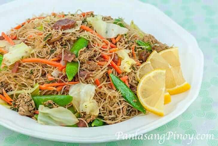 Pancit Bihon Recipe Panlasang Pinoy
