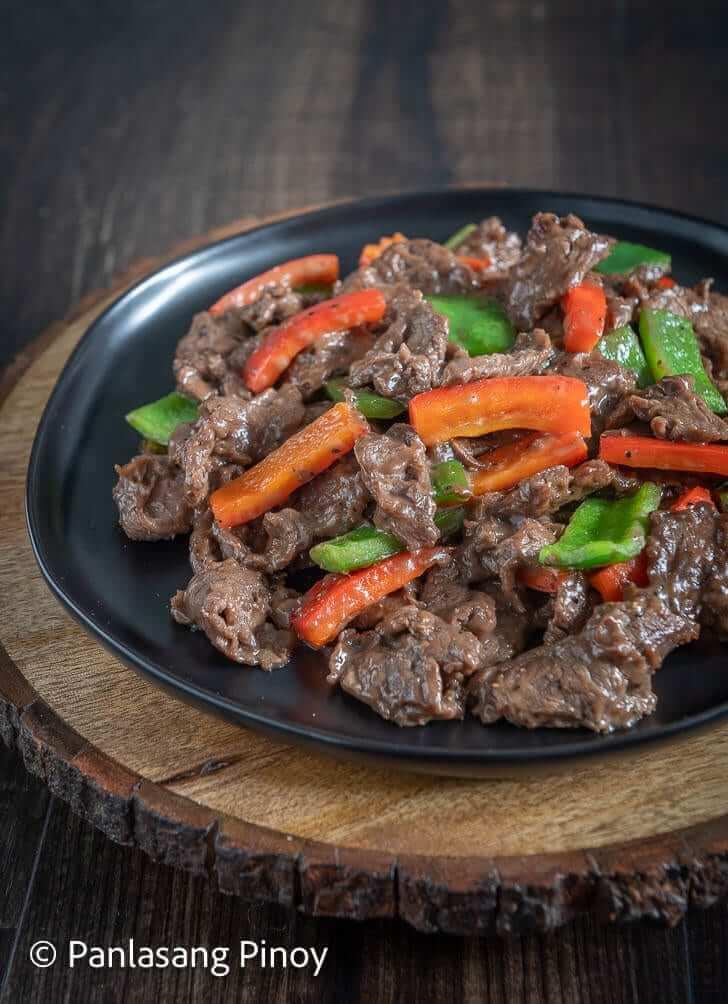 stir fry beef recipe