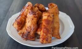 Turon Recipe (Banana Lumpia with Caramel)