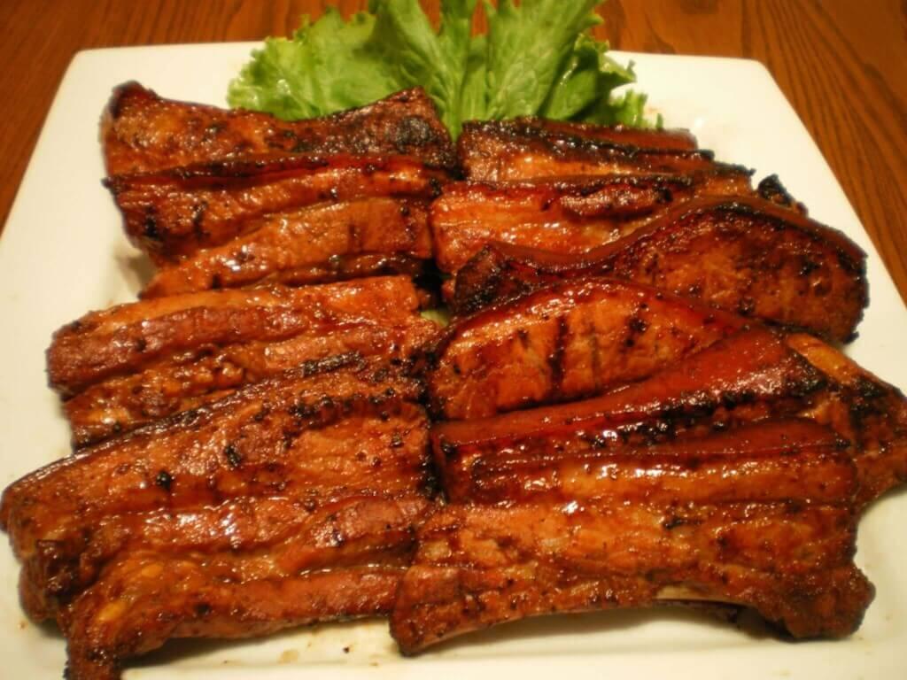 Filipino Food - Inihaw na Liempo
