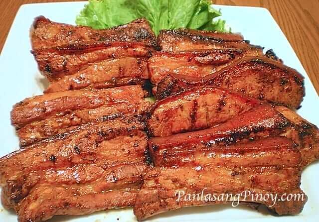 Grilled Pork Belly Liempo