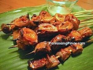Grilled Isaw (Intestine) Recipe