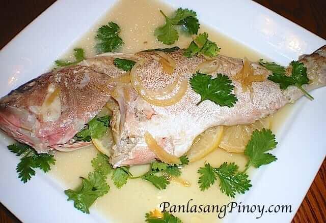 Steamed Fish - Grouper