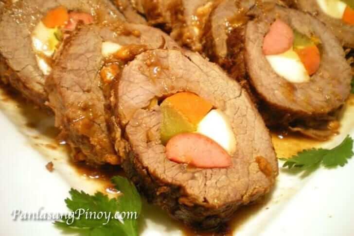 Morcon Recipe Panlasang Pinoy