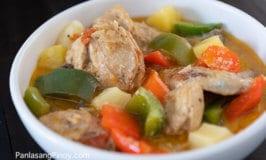 Pininyahang Manok Recipe (Pineapple Chicken)