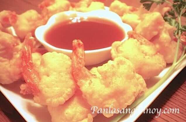 Camaron Rebosado Shrimp Recipe