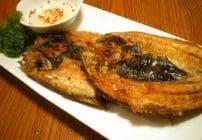 Fried Bangus
