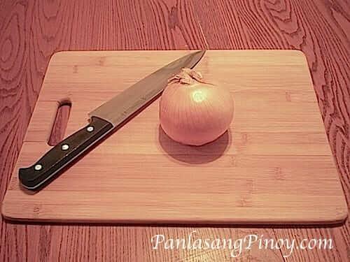 Dice an Onion