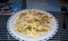 Spiral Noodles with Vegetables