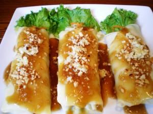 Filipino Food - Lumpiang Sariwa