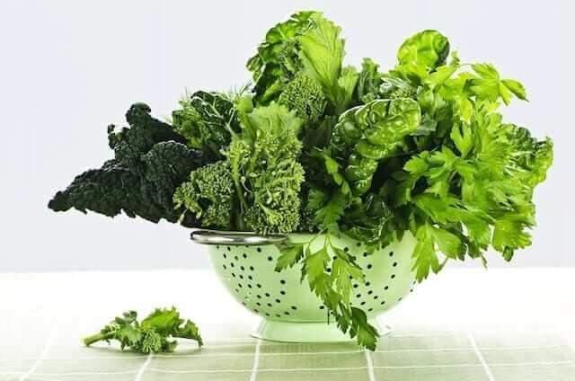 Foods that Lower Blood Pressure - Green Leafy Vegetable