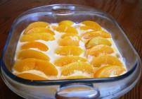 Peach Refrigerator Cake