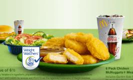 Weight Watchers Approves Mc Donald's Menu