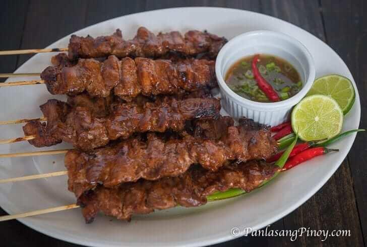 Pinoy Pork Barbeque