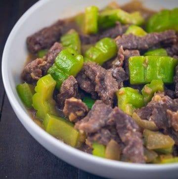 Ampalaya Con Carne Recipe