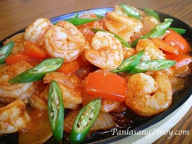 spicy sizzling gambas shrimp recipe