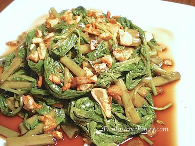 Adobong Kangkong Recipe