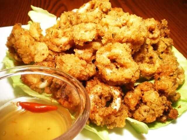 squid calamari calamares recipe