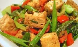 Tofu in Black Bean Sauce Recipe