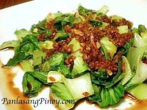 Bok-Choy-in-Garlic-Sauce
