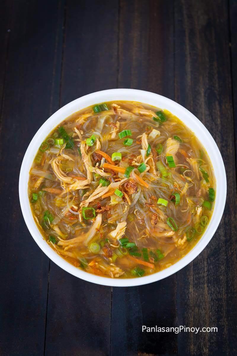 Chicken Sotanghon Soup Recipe