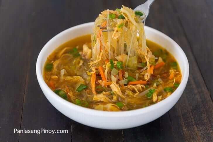Chicken Sotanghon Soup