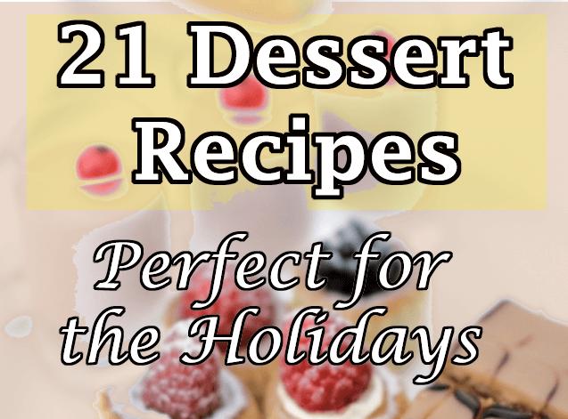 21 holiday dessert recipes forumfinder Gallery