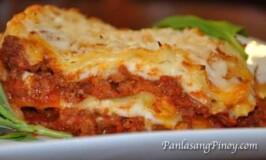 Easy Lasagna Recipe (in Bechamel Sauce)
