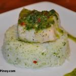 Grilled Cilantro Cod