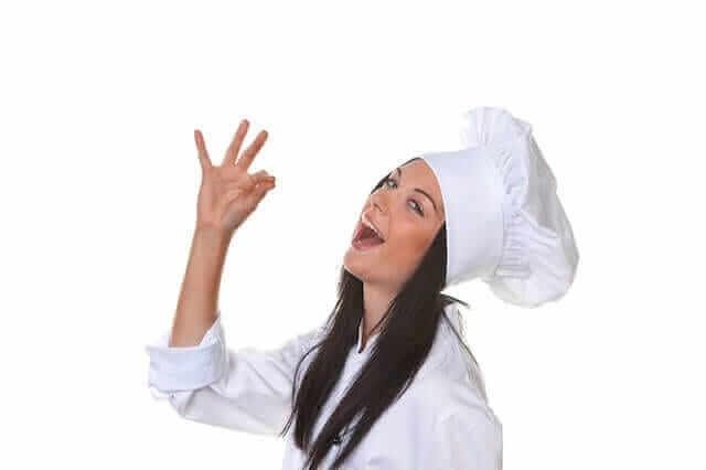 Successful chef