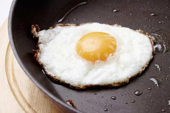basted egg