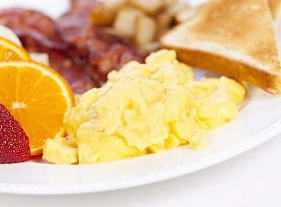 scrambled egg