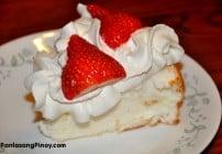 Angel Food Cake wih Strawberries