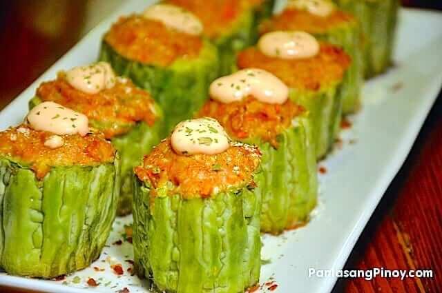 Meat Stuffed Ampalaya Recipe