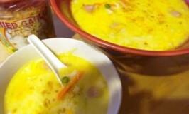 Sarah's Creamy Chicken Macaroni Soup