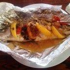 Alvin's Oven Baked Sea Bass