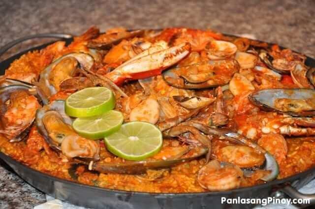 paella marinera recipe