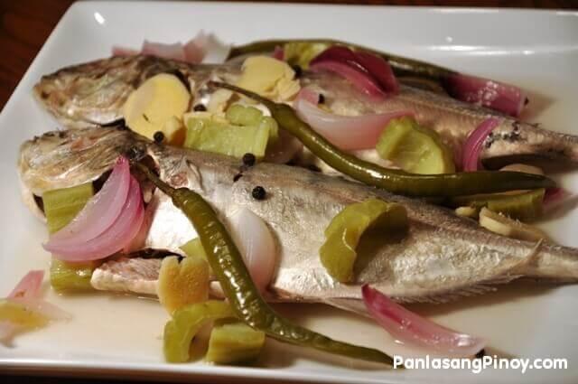 paksiw na isda fish cooked in vinegar Filipino