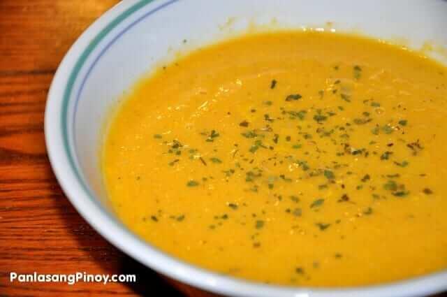 squash pumpkin soup