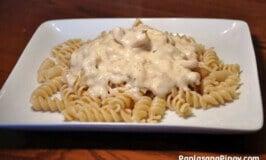 Rotini Chicken Alfredo Recipe