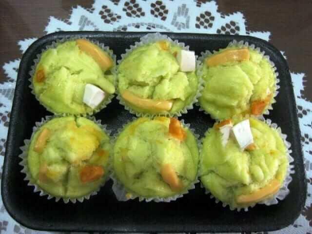 Sugar-free-Carrot-Pandan-Puto