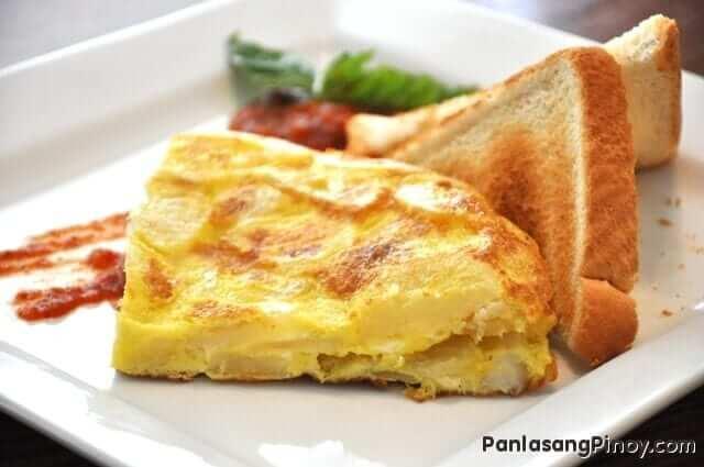 Tortilla Espanola - Scrambled Egg with Potato