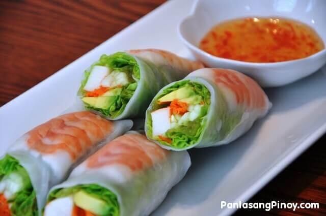 sushi summer roll recipe