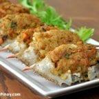 Rellenong Alimasag Recipe (Stuffed Crab)