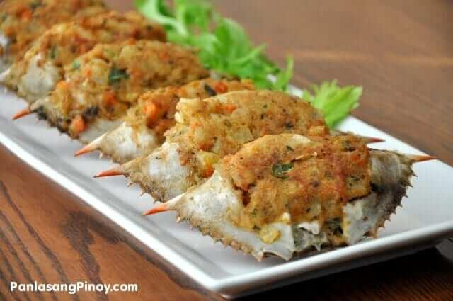 Rellenong Alimasag Recipe - Stuffed Crab