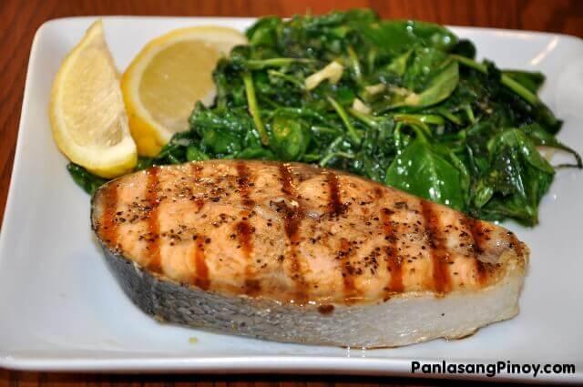 Salmon steak recipe panlasang pinoy for Fish steak recipe
