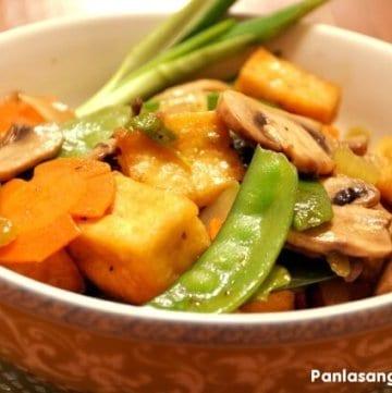 Stir Fry Tofu with Vegetables